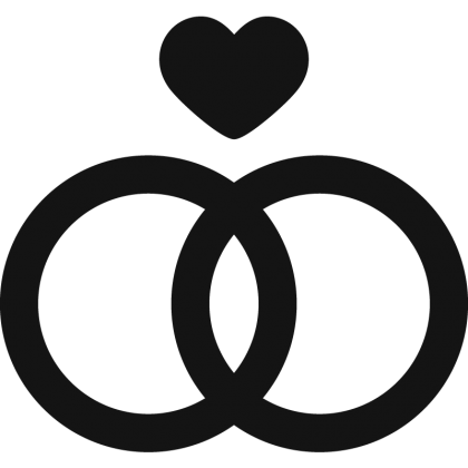 Bruiloft en trouwauto